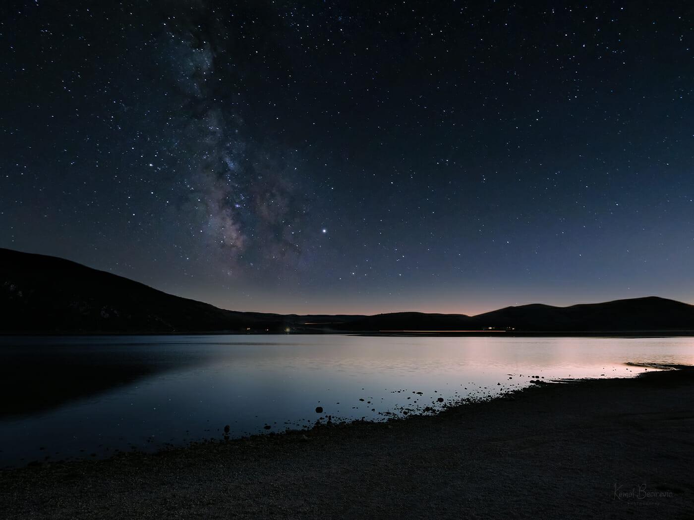 Blidinje Lake, Milky Way