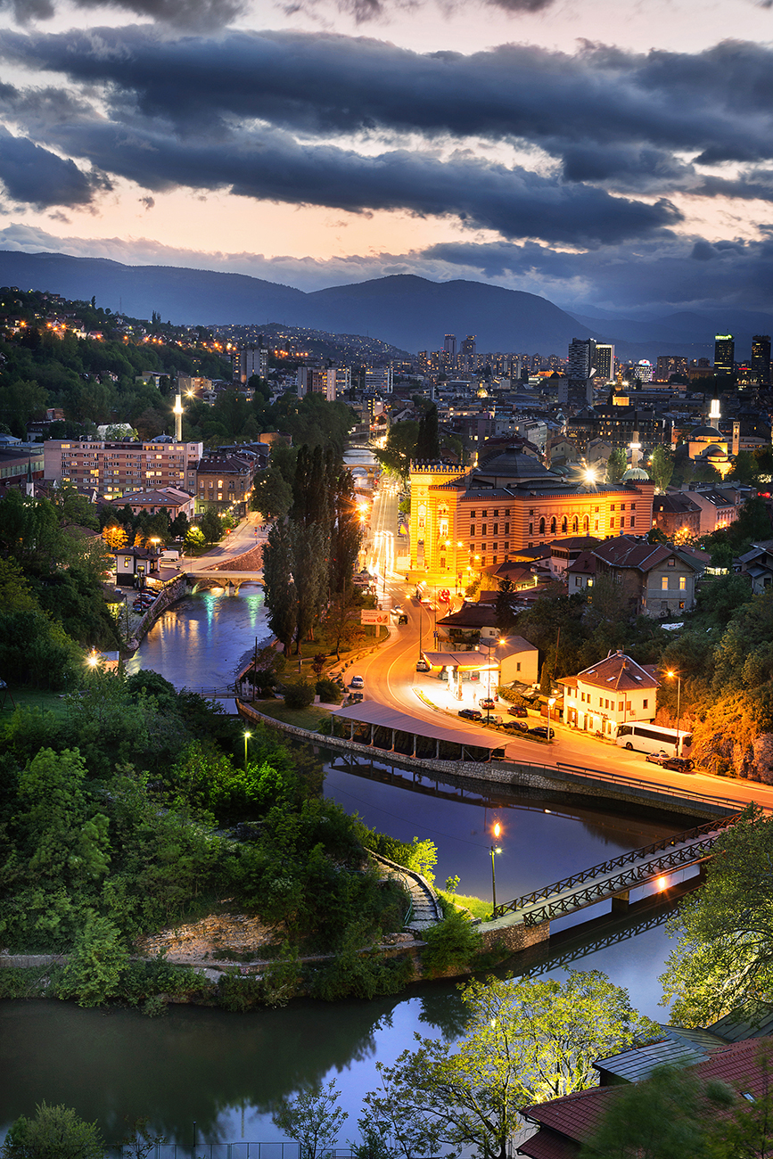 Blue Sarajevo