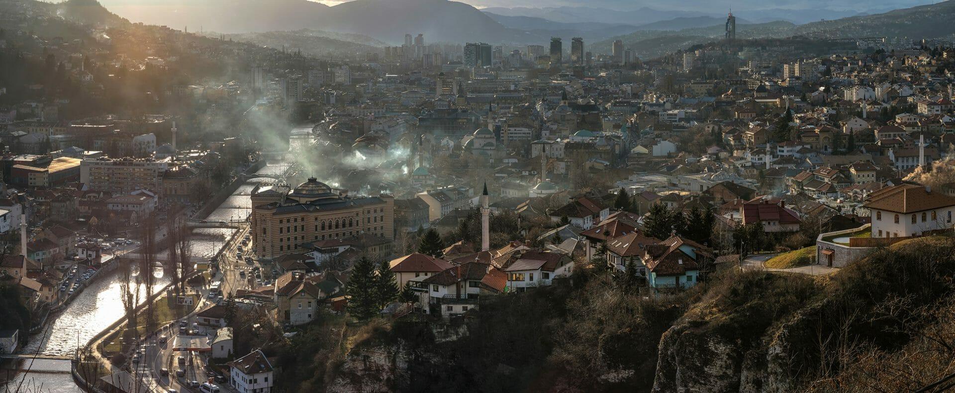 Sarajevo panorama 13000x5300 px
