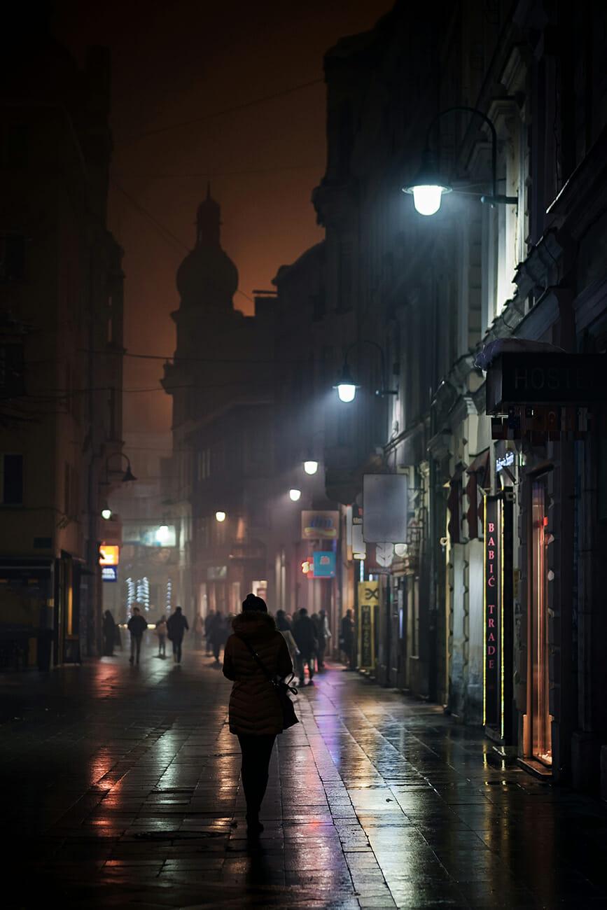 Ulica u odsjaju, Sarajevo