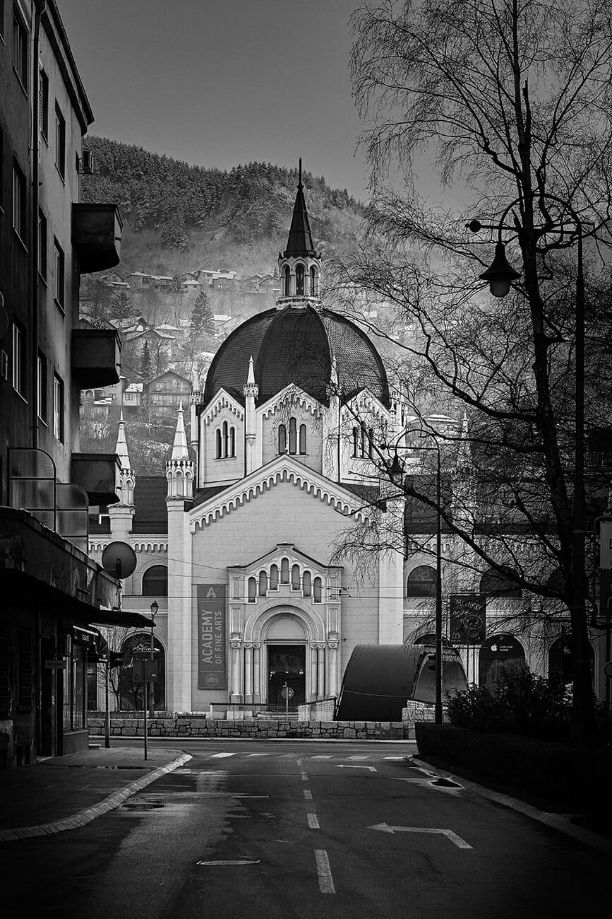Sarajevo, Likovna Akademija - BW